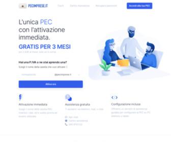 Pecimprese.it - Posta Certificata - PEC per Imprese facile e sicura