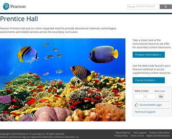 Phschool.com - Prentice Hall Bridge page