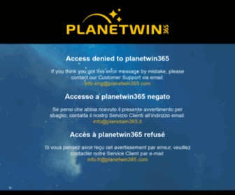 Www Planetwin365 Com
