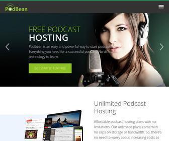 Podbean.com - Free Podcast Hosting - Starting a Podcast in 5 Minutes | Podbean