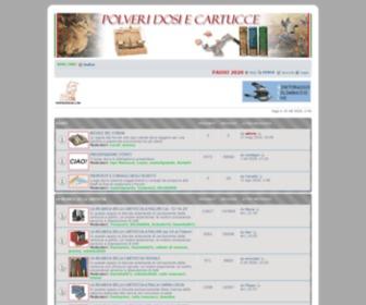 Polveridosiecartucce.com - POLVERI DOSI E CARTUCCE • Indice
