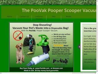 Poovak.com - PooVak pet waste pooper scooper vacuum