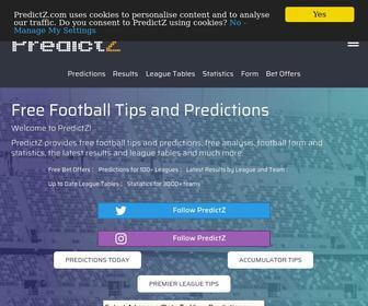 predictz com free worldwide soccer and football predictions and