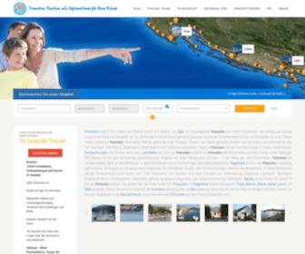 Primosten-riviera.eu - Primosten, Kroatien - Urlaub Ferienwohnungen und Ferienhäuser