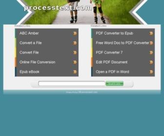 Processtext.com - processtext.com