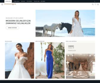 Pronovias.com.tr - Pronovias | Gelinlikler ve Kokteyl elbiseleri