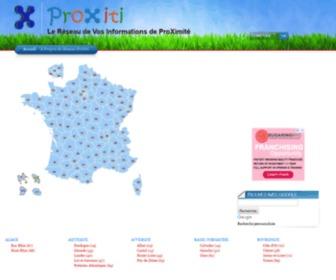 Proxiti.info - Le Réseau ProXiti - Premier Réseau d'Informations Locales de France