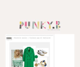 Punky-b.com - Punky B | The Fashion Diary - Blog Mode