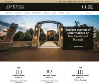 Purdue.edu - Purdue University - Indiana's Land Grant University