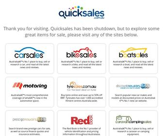 Quicksales.com.au - Buy and sell with Australia's #1 free auction & classifieds site