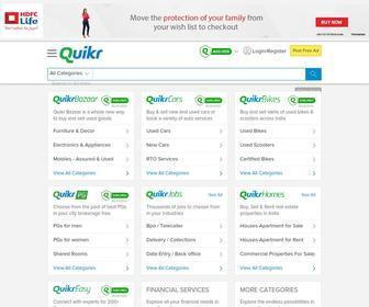 Quikr.com - Free Classifieds India,  Post & Search Ads Online| Quikr