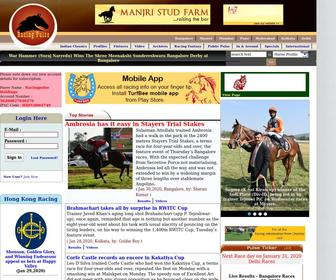 Racingpulse.in - Indian Horse Racing | Excitement At Its Best : At Premier Website of India's Horse Racing India, live Results, Live Odds, Live Videos, Photos, Reviews