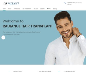 Radiancehairtransplant.com - Best Hair Transplant Surgeon In India - Radiance Hair Transplant Clinic