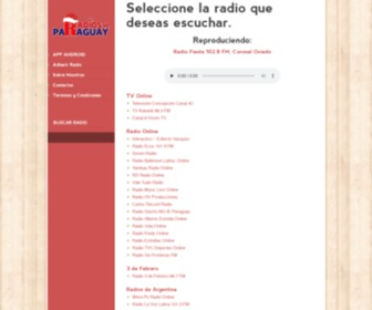 Radiosenparaguay.com - Radios en Paraguay - Escucha las mejores Radios del Paraguay Online !