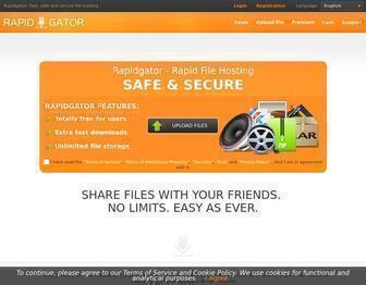 Rapidgator.net - Rapidgator.net: Fast, safe and secure file hosting
