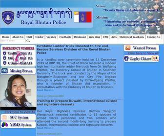 Rbp.gov.bt - Royal Bhutan Police.