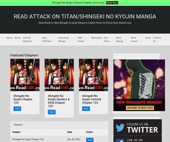 Read Attack On Titan Readsnk Com At Statscrop Read attack on titan/shingeki no kyojin manga in english online for free at readsnk.com. statscrop