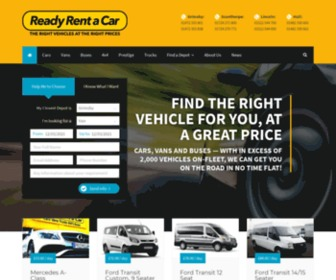 Readyrentacar.co.uk - Car, Van, minibus hire in Grimsby, Scunthorpe, Lincoln, Hull | Lincolnshire, Yorkshire