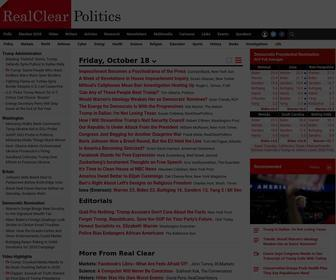 Realclearpolitics.com - RealClearPolitics - Opinion, News, Analysis, Video and Polls