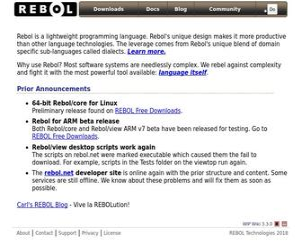 Rebol.com - REBOL Language