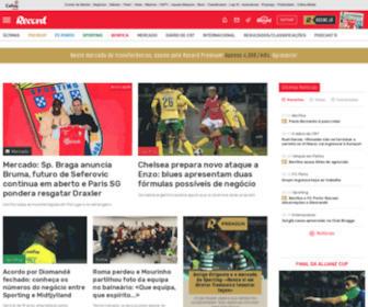 Record.pt - Record: Tudo sobre desporto. Futebol, mercado, modalidades, resultados e classificações