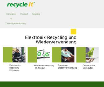 Recycle-it.de - recycle it GmbH, Gebrauchte Computer, E-Schrott Entsorgung, Elektronik Recycling, ElektroG