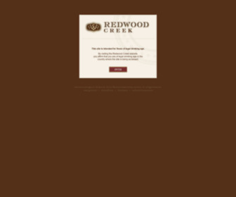 Redwoodcreek.com - Redwood Creek - California Wines, Rich and Flavorful, Award Winning, Pinot Noir, Merlot, Malbec, Rich Red Blend, Cabernet Sauvignon, Zinfandel, Pinot Grigio, Sauvignon Blanc and Chardonnay