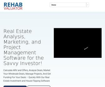 Rehabvaluator.com - Free Real Estate Property Flipping Software for Rehabbers, Wholesalers, Investors and House Flippers | Rehab Investment Spreadsheet!