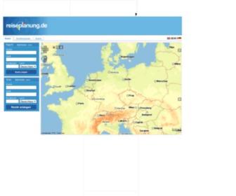 Reiseplanung.de - Routenplaner, Stadtpläne und alles für Ihre Reiseplanung