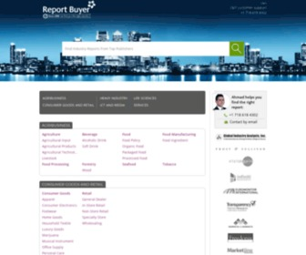 Reportbuyer.com - ReportBuyer: Market Research Reports From Top Publishers
