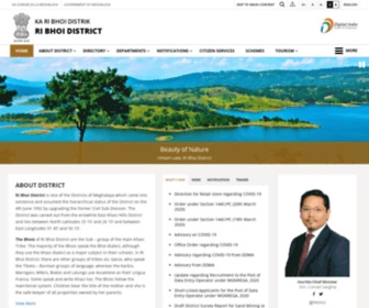 Ribhoi.gov.in - Ri Bhoi District:Official Website