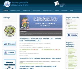 Ribolovci.org.rs - Savez sportskih ribolovaca Srbije