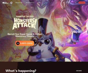 Riotgames.com - Riot Games