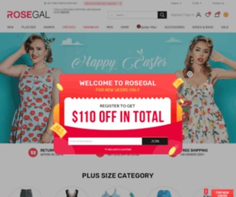 Rosegal.com - Shop Online Womens & Mens Fashion And Vintage Styles | RoseGal.com
