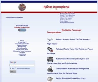 Routesinternational.com - Routes International - Passenger Transportation Resources