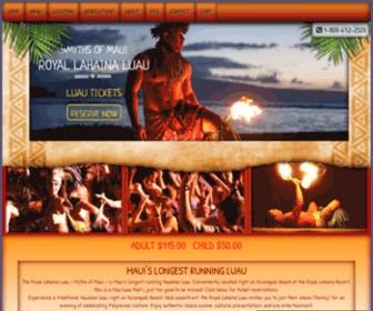 Royallahainaluau.com - Royal Lahaina Luau Maui
