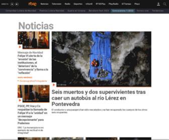 Rtve.es - Noticias de última hora, programas y series de televisión - RTVE.es