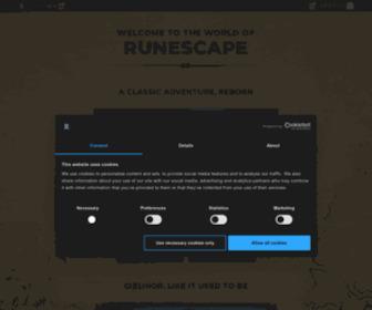 Runescape.com - The Free MMORPG - RuneScape - Online Fantasy RPG