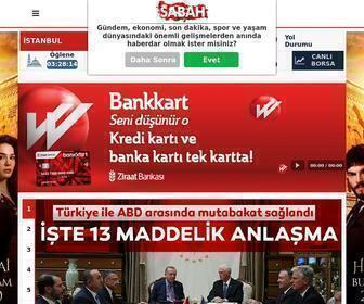 Sabah.com.tr - Haberler SABAH ile Okunur - Güncel Haber, Gazete Haberleri