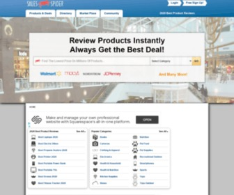 Salespider.com - Compare 1000's of prices & get the best prices.