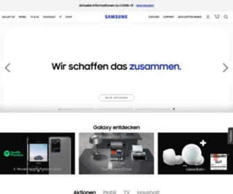 Samsung.de - 문서가 이동되었습니다.