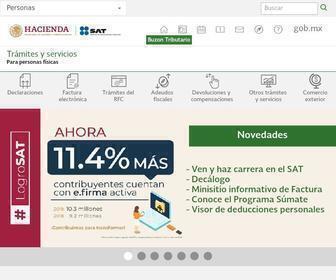 Sat.gob.mx - Servicio de Administración Tributaria