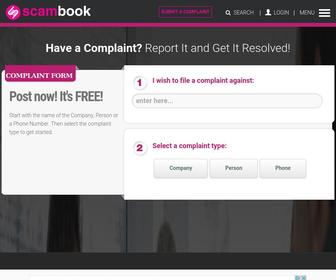 Scambook.com - Complaint Resolution Platform | Scambook
