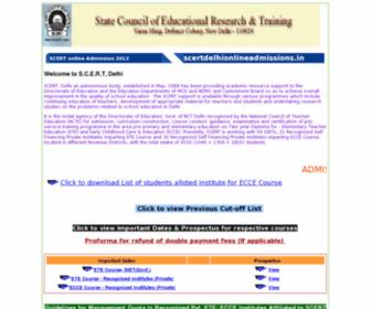 Scertdelhionlineadmissions.in - scertdelhionlineadmissions.in - de beste bron van informatie over scertdelhionlineadmissions.