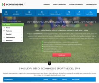 Scommesse.it - Migliori Siti di Scommesse Sportive  & Pronostici  - Scommesse.it