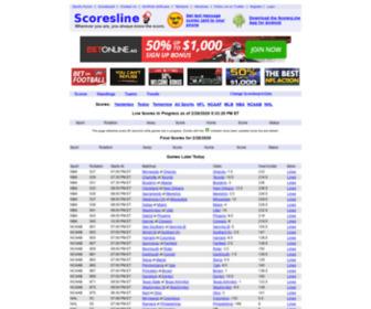 Scoresline.com - Scoresline.com - Fast sport scores for your Android phone