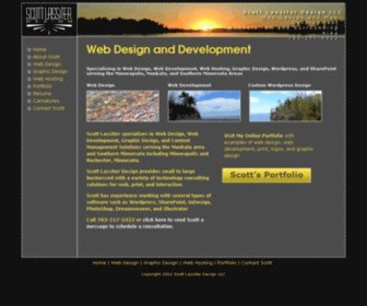 Scottlassiter.com - Scott Lassiter Design | Web Design in the Mankato, St. Peter, Owatonna, Waseca, and Southern Minnesota Area