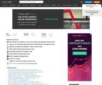Seekingalpha.com - Stock Market Insights | Seeking Alpha