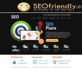 Seofriendly.com - SEO / SMO Services that delivers guaranteed results