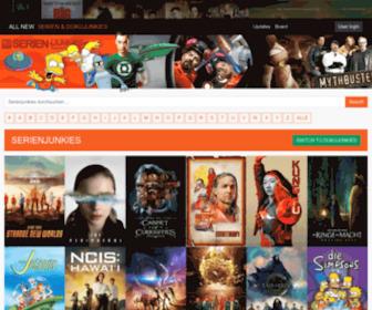 Serienjunkies.org - » Mehr als 4500 Serien für dich » Serienjunkies : Downloads & Streams